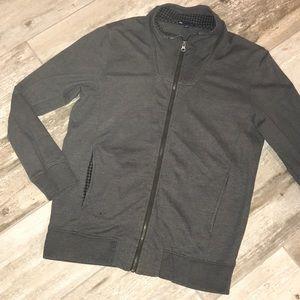 Men's GAP Gray Zip Up Sweater Small
